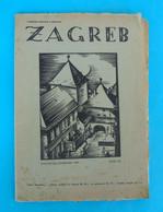WW2 ... ZAGREB - Revija Druztva Zagrebcana ... Croatia NDH Magazine (listopad-studeni /1941) * Croatie Kroatien Croazia - Slav Languages