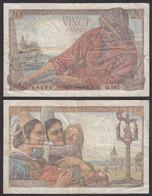 Frankreich - France - 20 Francs Banknote 14-10-1948 Pick 100c F (4)   (29174 - Unclassified