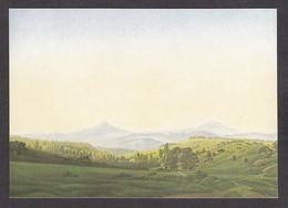 PF131/ Caspar David FRIEDRICH, *Böhmische Landschaft*, Dresden, Gemäldegalerie - Pittura & Quadri