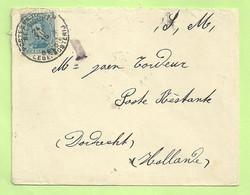 141 Sur Lettre D'un Soldat Belge Postes Militaires 1915 Vers Célèbre Passeur Tordeur à DORDRECHT  (3533) - Esercito Belga