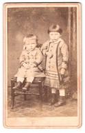 Fotografie Wilhelm Pfaff, Bühl, Graben Strasse 254, Karl Und Frieda Fleischer Im Portrait - Anonymous Persons