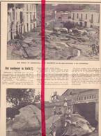 Orig. Knipsel Coupure Tijdschrift Magazine - Italie - Casamicciola , Overstromingen - 1910 - Sin Clasificación