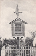 CARTE ALLEMANDE - GUERRE 14-18 - LIÉRAMONT (SOMME) - TOMBE MILITAIRE - FOSSE COMMUNE - Weltkrieg 1914-18
