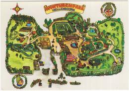 Hellendoorn - Avonturenpark, Luttenbergerweg 22: Kaart Met Alle Attracties - (Overijssel, Nederland) - Nr. L  6790 - Hellendoorn