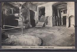 Napoli: Catacombe Di San Gennaro - Fonte Battesimale (non Viaggiata) - Napoli (Naples)