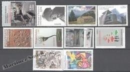 Spanish Andorra - Andorra Española 2012 - Complete Year - MNH - Ongebruikt