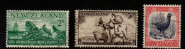New Zealand SG 752-54 1956 Southland Centennial,used - Used Stamps