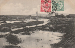 Postcard Chivama Railway Bridge 1923 Nyasaland - Sonstige