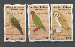561/63  Oiseaux                               (claswalpat9) - Used Stamps