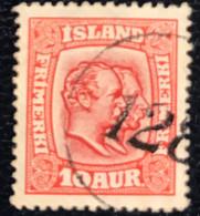 Island - Ijsland -  D2/19 - (°)used - 1916 - Michel 81 - Koning Frederick VIII - Gebraucht