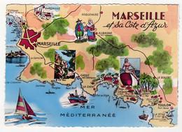 MARSEILLE ET SA COTE D'AZUR  La Cote De Toulon Au Port De L'Estaque - Non Classificati