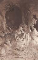 """MASTROIANNI  ILLUSTRATEUR  EDITEUR  A.N  246  """"L'ENFANT DIVIN""""  RELIGION  JOYEUX NOEL - Mastroianni"""