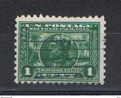 U.S.A.:  1912/15  ESPOSIZIONE  -  1 C. VERDE  US. -  D. 10  -  YV/TELL. 195 - Varietà, Errori & Curiosità