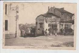 POITIERS - VIENNE - L'AVENUE DE NANTES - CAFE DE PARIS - MAUVAIS ETAT - Poitiers