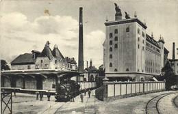 Brauerel Zum Fischer J Ehrhard A.G. Schiltigheim Srassburg Ansicht Der Malzfabrik RV - Strasbourg