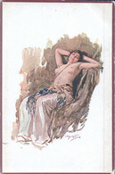 Femme Aux Seins Nus, Illustrateur (501) Usure Des Angles - Andere Illustrators