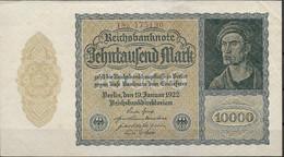 ALEMANIA  10000 MARK  19-01-1922  BUEN ESTADO - Unclassified