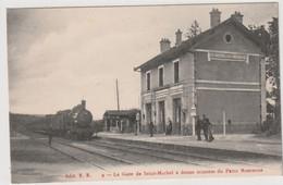 ST MICHEL Sur MEURTHE( 88 - Vosges )  La Gare De St Michel à Douze Minutes Du Petit Robinson -  , Train  - Parfait état - Autres Communes