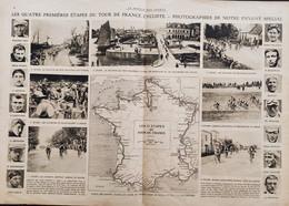 1920 LE TOUR DE FRANCE - LES CHAMPIONS VAINQUEURS DU TOUR DE FRANCE - LE PROFILS DES ÉTAPES - Non Classificati