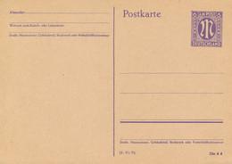 Amerikanische Zone / Bayern  -  1945  ,  6 Pf.  -  Michel  P 903 II/03 - Zona Anglo-Américan