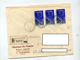 Lettre Recommandée Aix En Provence Sur Observatoire - Bolli Manuali