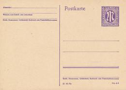 Amerikanische Zone / Bayern  -  1945  ,  6 Pf.  -  Michel  P 903 II/01 - Zona Anglo-Américan