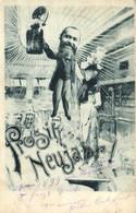 Precurseur 1899 Illustrateur Prosit Neujahr ! RV - Nieuwjaar