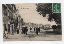 - CPA LE POULIGUEN (44) - La Rue Des Quais 1911 (belle Animation) - Editions Artaud-Nozais 247 - - Le Pouliguen
