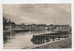 - CPA LE POULIGUEN (44) - Quai à Marée Haute - Cliché Fodéré 213 - - Le Pouliguen