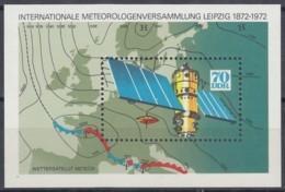 DDR  Block  36, Postfrisch **, 10 Jahre Meteorologen-Versammlung 1972 - Bloques