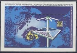 DDR  Block  35, Postfrisch **, 10 Jahre Meteorologen-Versammlung 1972 - Bloques