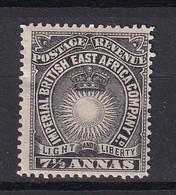 British East Africa: 1894   Light & Liberty    SG30    7½a      MH - Afrique Orientale Britannique