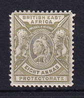 British East Africa: 1896/1901   QV     SG74    8a      MH - África Oriental Británica