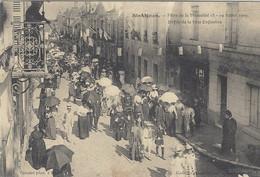 SAINT AIGNAN (41) - Fêtes De La Mutualité 18 - 19 Juillet 1909 - Défilé De La Fête Enfantine - Saint Aignan