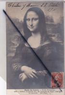 Musée Du Louvre -Ecole Floentine. La Joconde -Vinci (Lionardo Da) (1452-1519) - Peintures & Tableaux