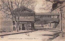 L'ESTAQUE Près Marseille - Etablissement Mistral - Restaurant - L'Estaque
