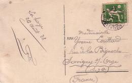PAYS-BAS - ROTTERDAM - 26 AOUT 1928 - IX OLYMPIADE - 1928 - FOOTBALL. - Marcofilia