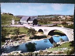 48, Recoules D'aubrac , Le Pont De Gournier Et L'hôtel Relais De L'aubrac  ......     Cpsm...gf - Other Municipalities