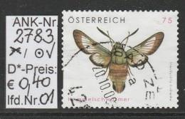"""13.6.2008 - SkFM/DM """"Tierschutz - Hummelschwärmer""""  - O Gestempelt Auf Briefstück - Siehe Scan (2783o 01-04 ABs) - 2001-10 Usados"""