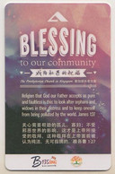 Singapore Cash Card Transport Card Used Cashcard Blessings - Altri