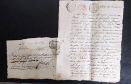 Drôme Serre Canton De Hauterive Cédule En Conciliation An 6 - Manuscripten
