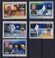 Penrhyn Space 1994 20th Anniversary Apollo 11. Nice Set - Penrhyn