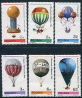 POLAND 1981 Gordon Bennett Balloon Championships  MNH / **.  Michel 2729-34 - Nuevos