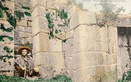 Cartolina - Perù - Ruinas Incaicas En Sacsahuaman - Cuzco - 1920 Ca. - Zonder Classificatie