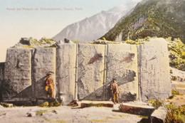 Cartolina - Perù - Cuzco - Pared Del Palacio De Ollantaytambo - 1920 Ca. - Zonder Classificatie