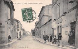 FONTVIEILLE - Postes Et Télégraphes Et La Mairie - Fontvieille
