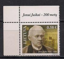 Lithuania 2015 Jonas Jushka. Mi 1189 - Lituania