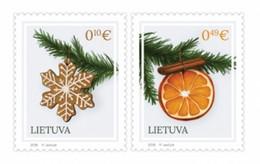 Lithuania 2018  Christmas. Mi 1297-98 - Weihnachten