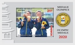 Romania Rumänien Delivery Within 4 Weeks MNH ** Ru 2021 207 Olympic Medals Tokio 2020 - 2021 Block - Neufs