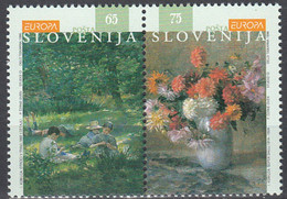 EUROPA Slovenie Yv 134/5 MNH Neufs** - - 1996